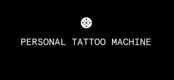 Personal tattoo machine