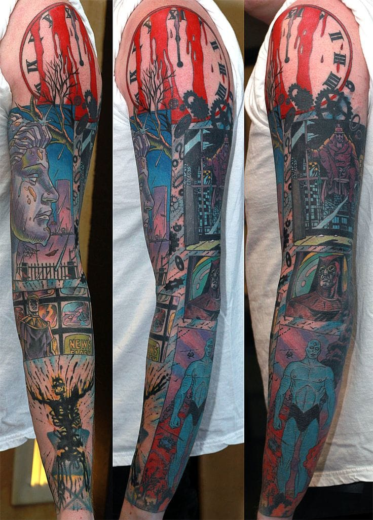 Awesome Watchmen Tattoo