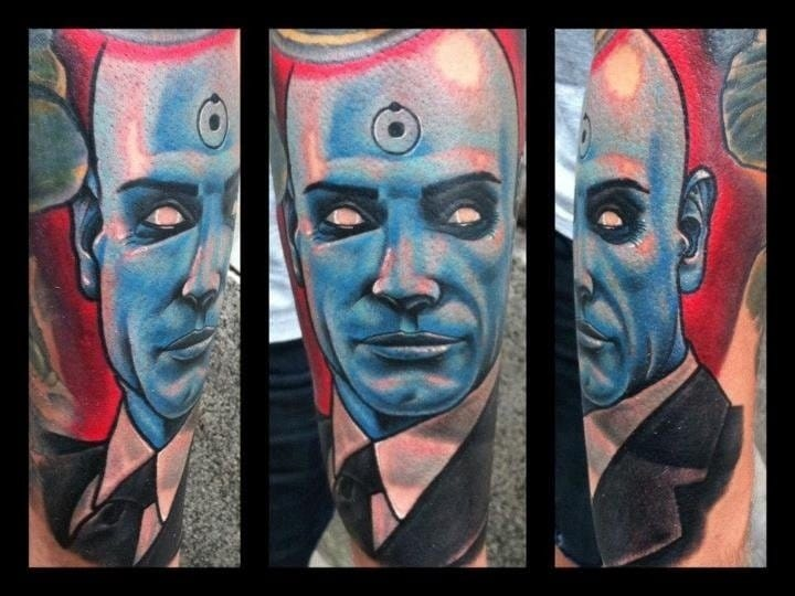Doctor Manhattan, Unknown artist