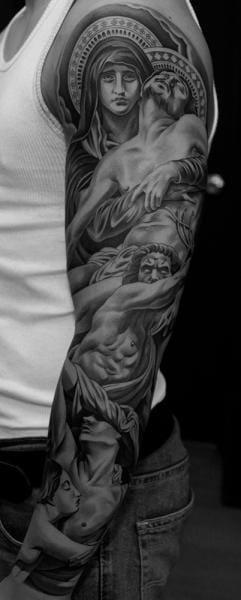 Brilliant Religious Tattoo
