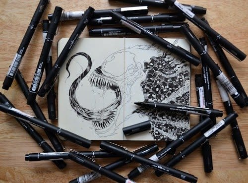 Kerby Rosanes work in the process