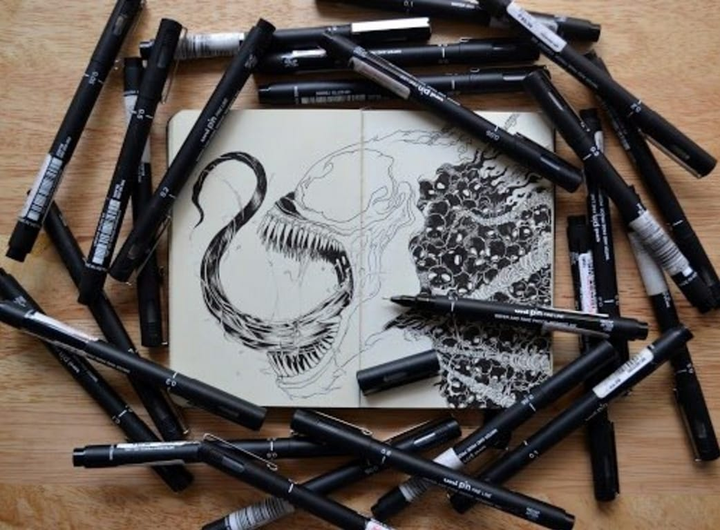 Kerby Rosanes art in the process