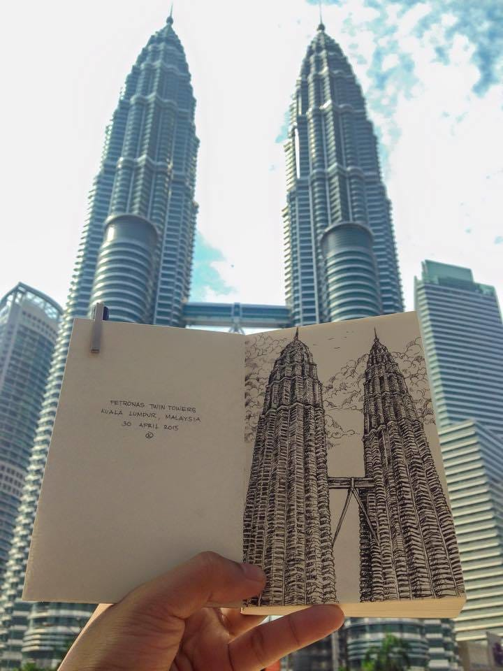 Twin towers by Kerby Rosanes