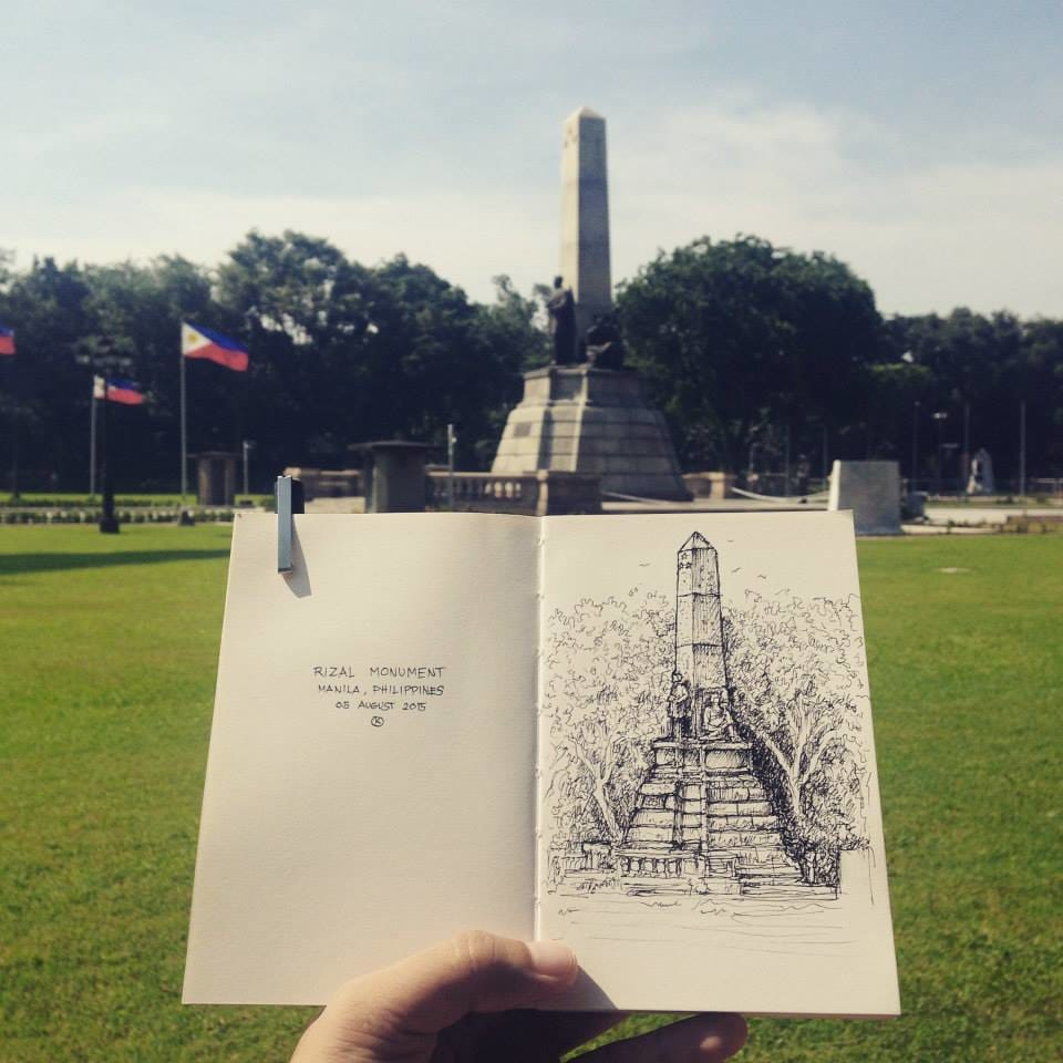 Rizal monument by Kerby Rosanes