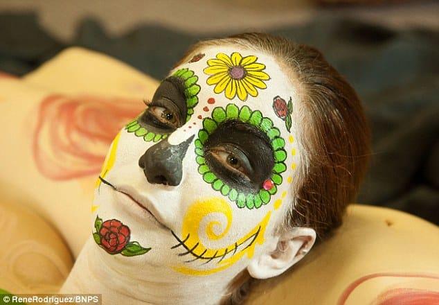 Human Sugar Skull model