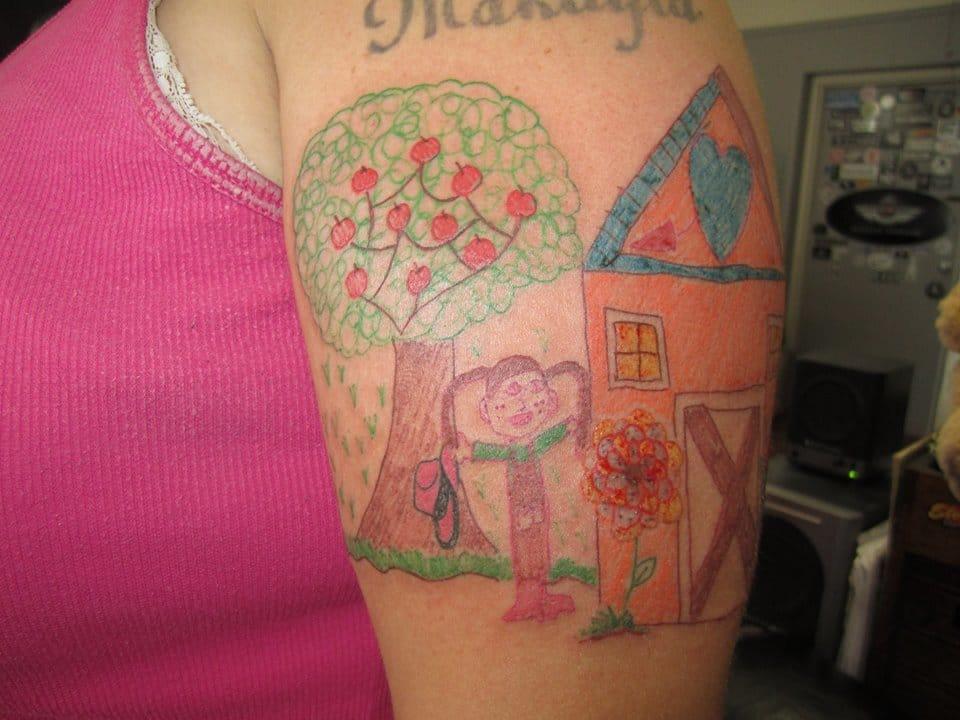Tattooed at Rays Tattoo Studio.