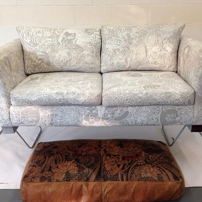 white tattooed sofa gina mcqueen