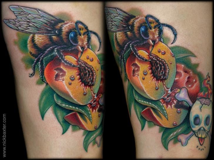 Bee Tattoo by Nick Baxter
