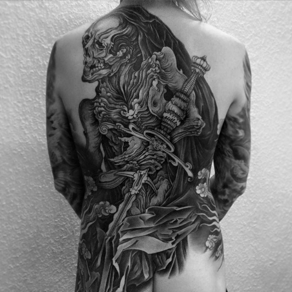Epic backpiece!