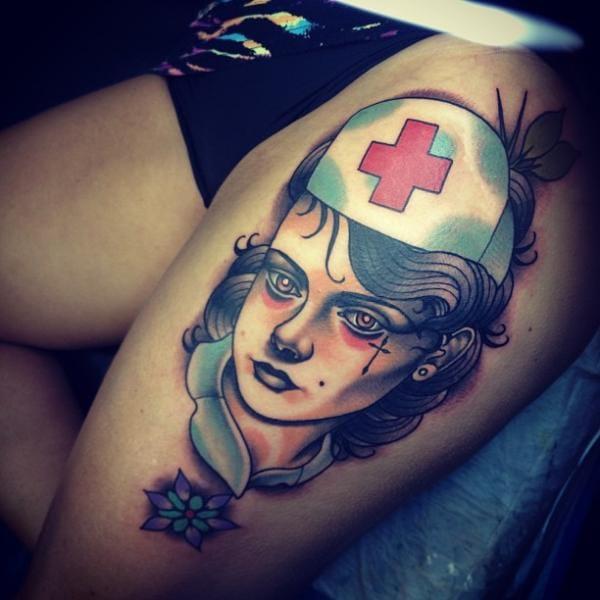 15 Stylish And Elegant Nurse Tattoos
