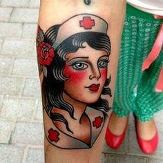 Bold tattoo by Lina Stigsson