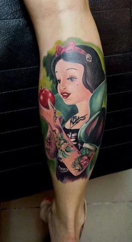 Tattooed Snow White by Oliver Zilahy.