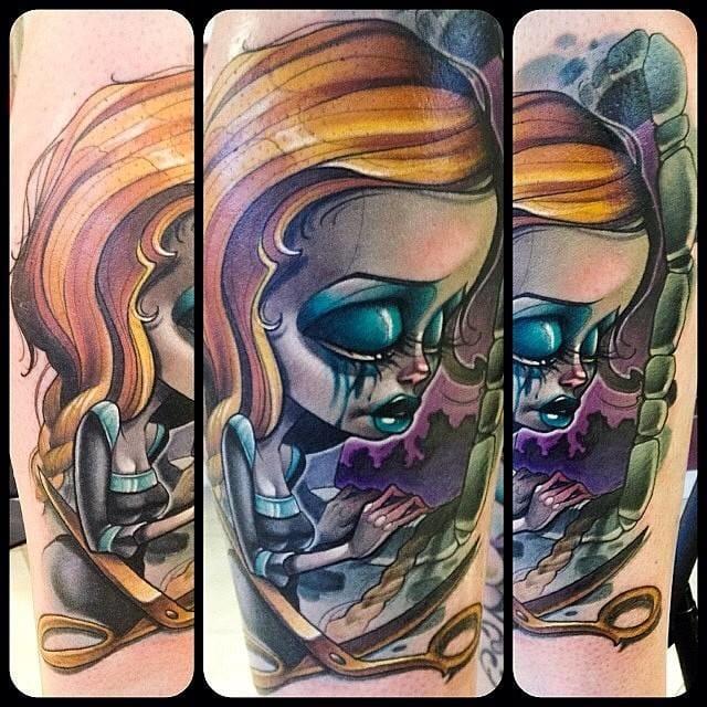 Gothic Rapunzel by Kelly Doty.