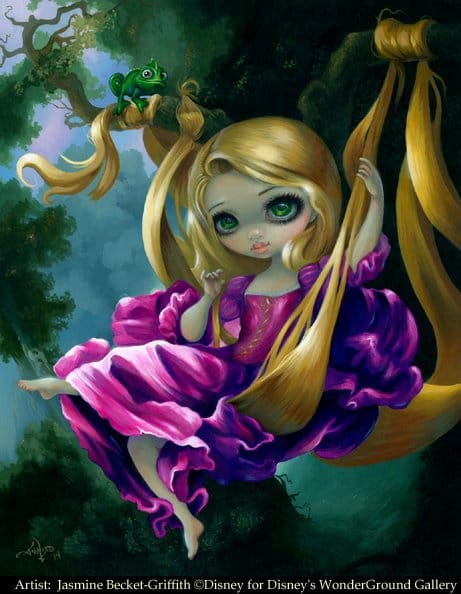 Lovely doll by Jasmine Becket-Griffith.