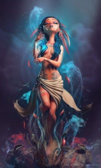 Cool art by Carlos Ortega Elizald.