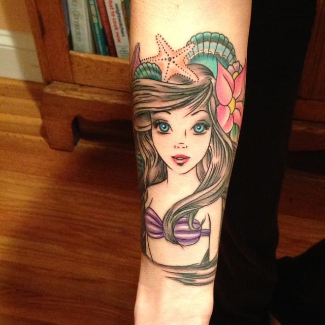 Made at Visions Tattoo Medway, MA.