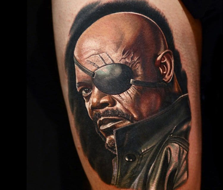 10 Epic Samuel L. Jackson Tattoos!
