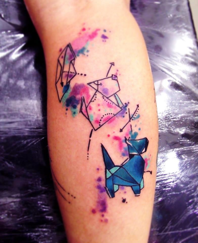Como fazer uma tatuagem LINDA em três passos...