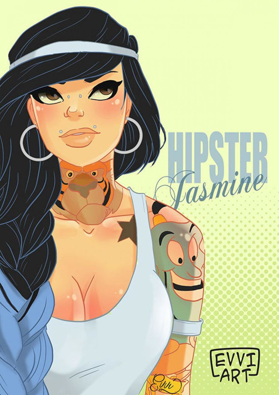 Hipster side by Emmanuel Viola.