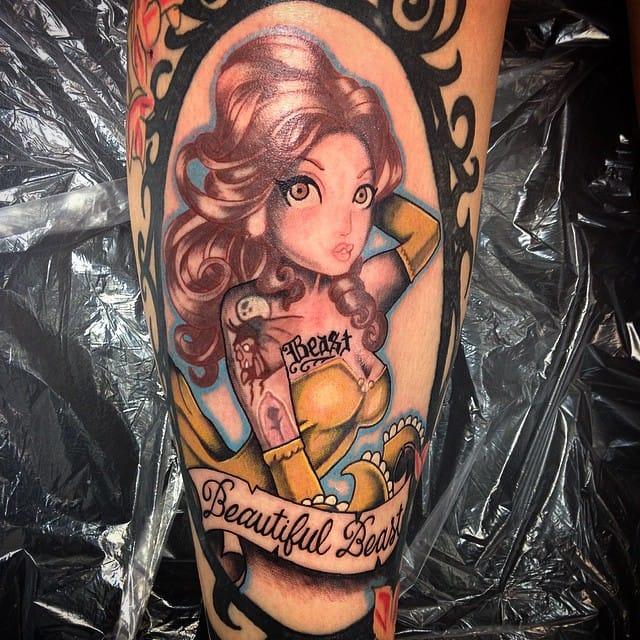 Tim Shumate strikes again in this tattoo by Izzey Juarez.