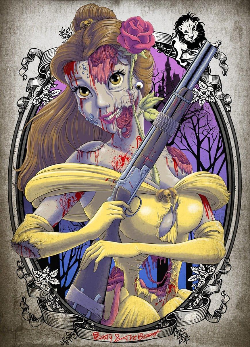 Zombie Belle? By Clocktowerman.