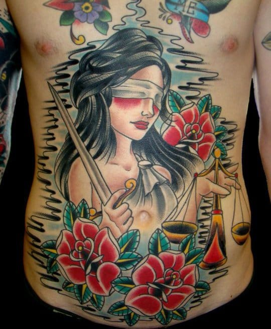 Awesome torso piece, artist unknown