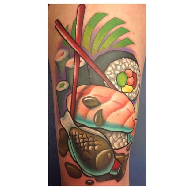 Great tattoo by Leah Moule.