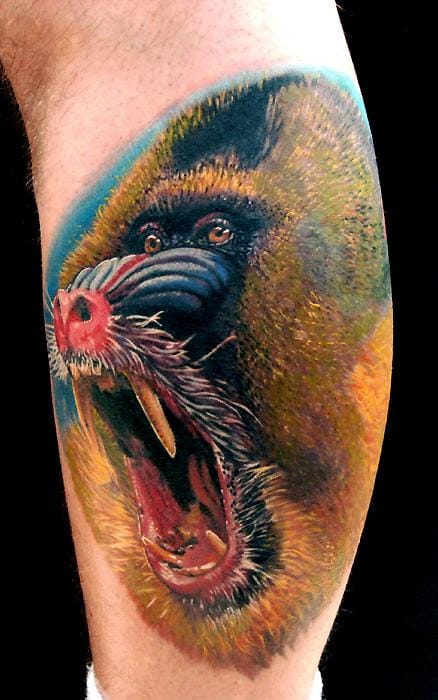 Phil Garcia did this awesome tattoo!!