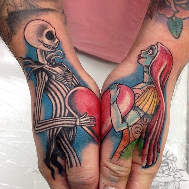 15 fascinating tim burton tattoos tattoodo for Tattoo nightmares shop website