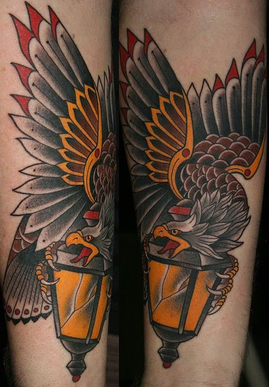 Awesome eagle and lantern!!