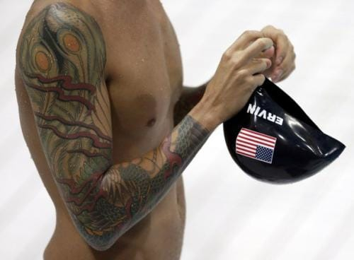 The Growth Of Tattoos In Swimming
