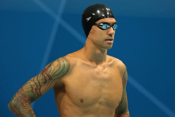 Anthony Ervin won Olympic gold in 2000 and recently returned to the sport after a 10 year break!!