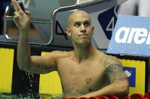 Canadian swimmer Brent Hayden