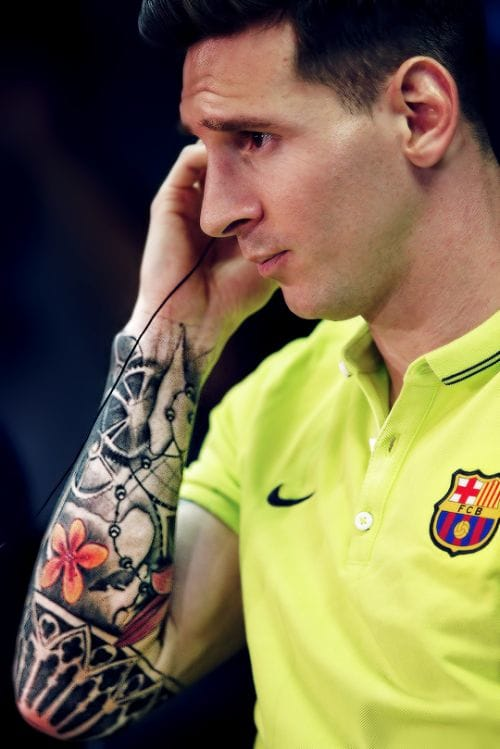 Lionel Messi: His Tattoos And What They Mean | Tattoodo
