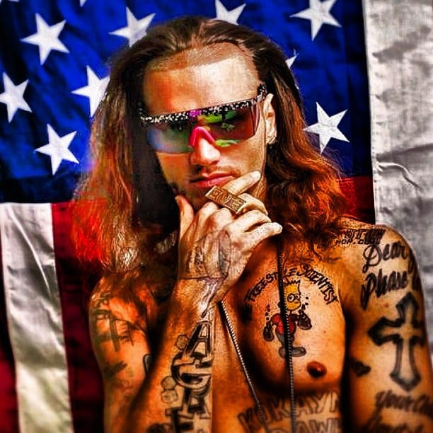 Riff Raff Is The Crazy Tattooed Rapper Played By James Franco