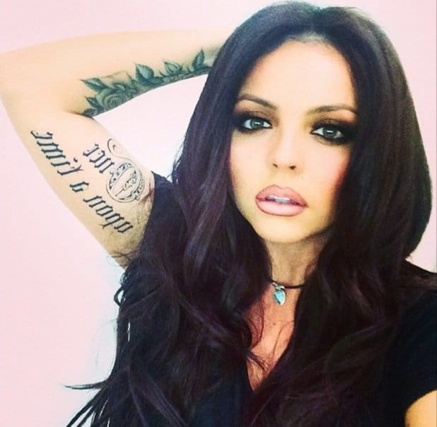 Jesy Nelson's Got Some Awesome New Ink!