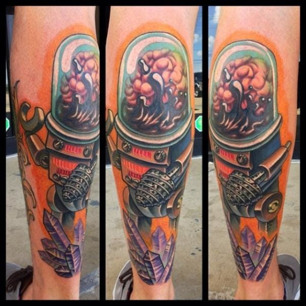 Awesome tattoo by Mike Woods