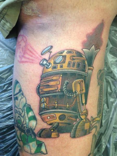 Star Wars Fantasy Robot by Bearcat Tattoo