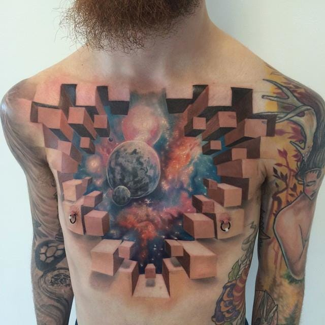Trip On These Kaleidoscopic Tattoos By Jesse Rix