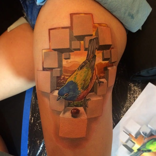 You Need To See These Incredible 3D Effect Tattoos
