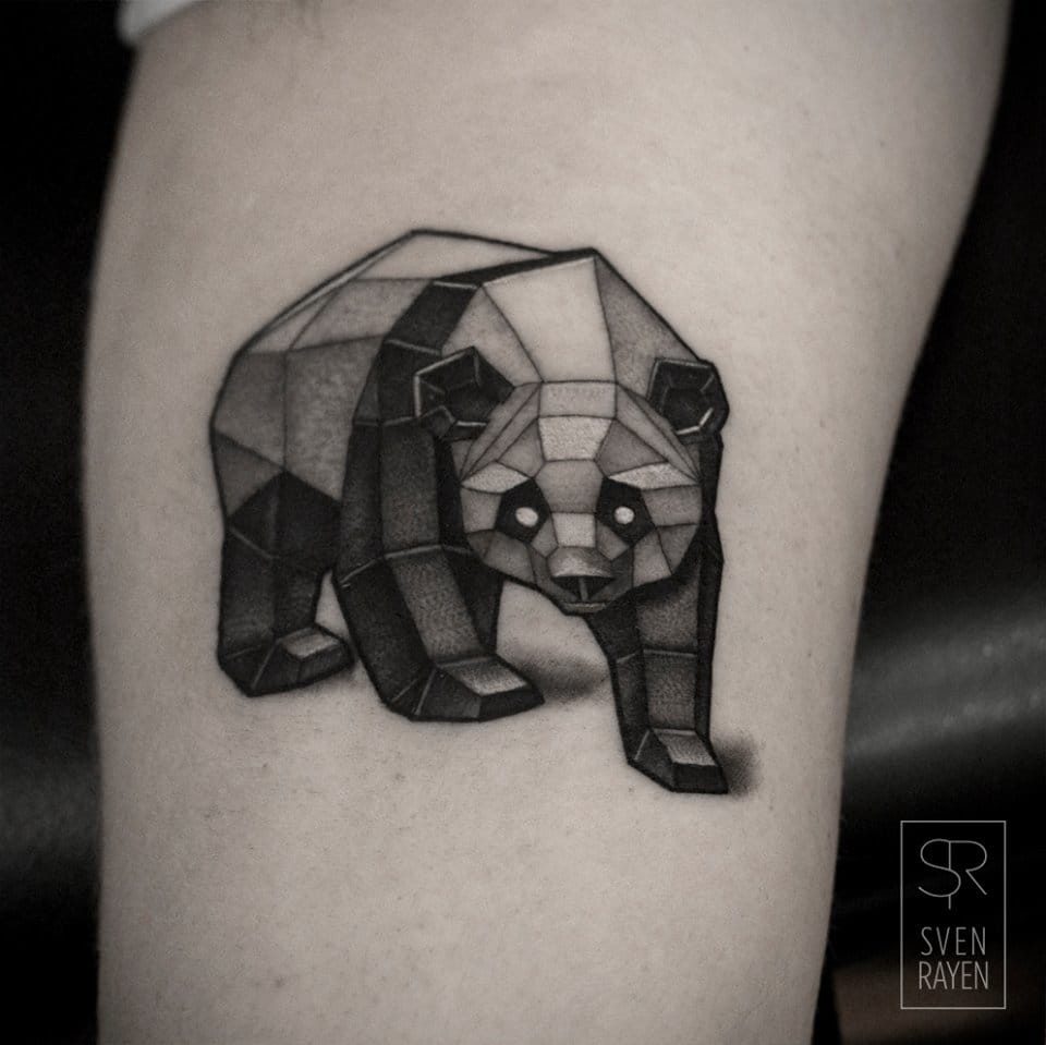 Sven Rayen Tattoo Artist: The Geometric Animal Tattoos Of Sven Rayen