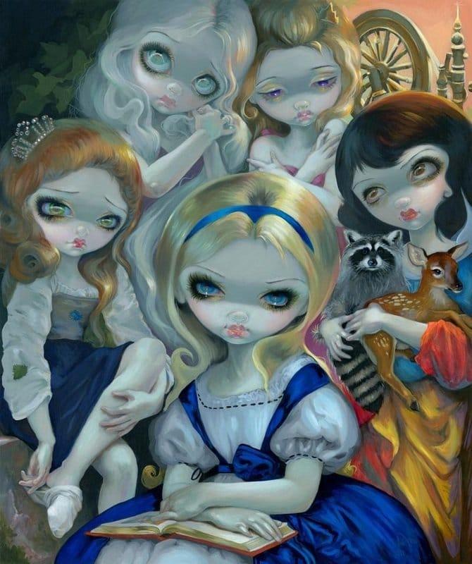 Art Inspiration: The Geek Girls of Jasmine Becket-Griffith