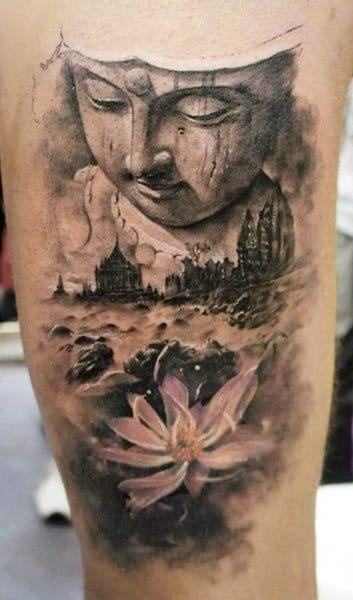 Fantastic tattoo by Domantas Parvainis!