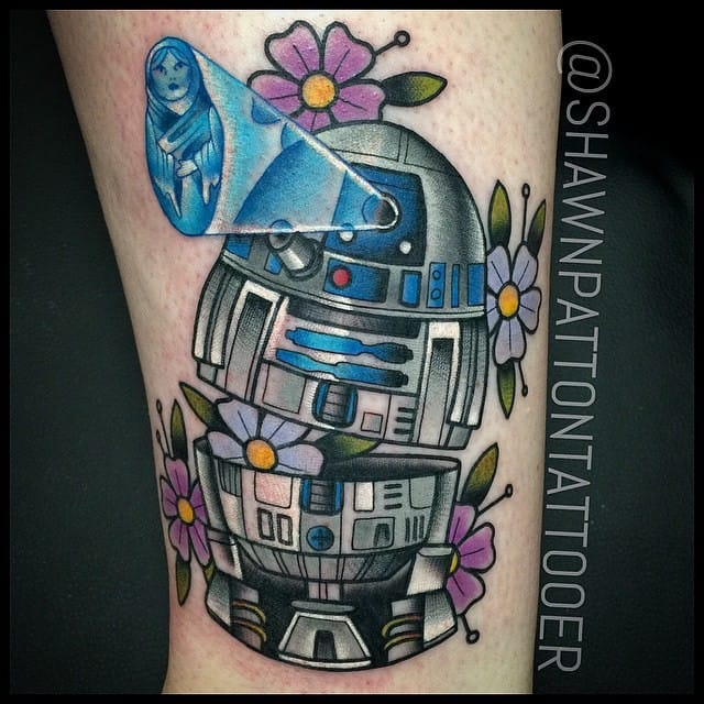 R2D2 Russian doll by Shawn Patton...