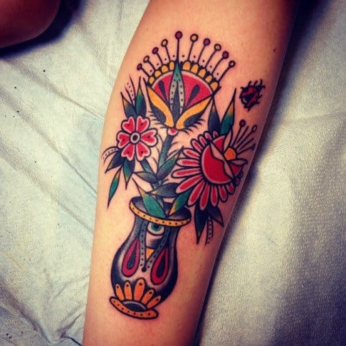 Lovely piece by Three Kings Tattoo Parlor