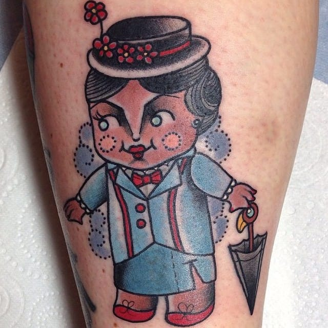 Just a spoon full of mary poppins tattoos tattoodo for Jody s tattoo shop