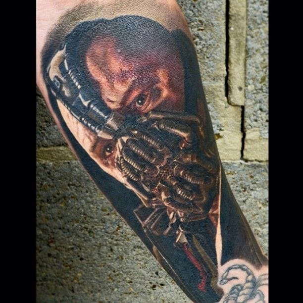 Has Nikko Hurtado ever done a bad tattoo??...this Bane one he did rocks!
