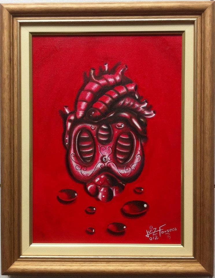 Caveira coração anatômico!