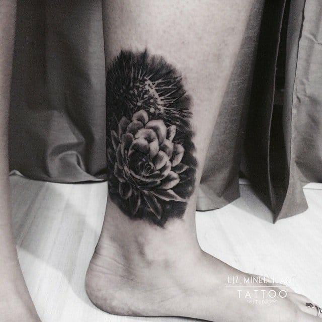 Flor de cactus!