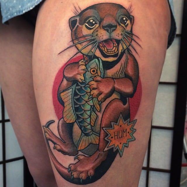 Lovely otter...